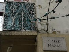 Aire sur l'Adour (40), calle Nanar. (Marie-Hélène Cingal) Tags: france southwest wroughtiron 40 landes sudouest aquitaine ferforgé airesurladour detalhesemferro callenanar