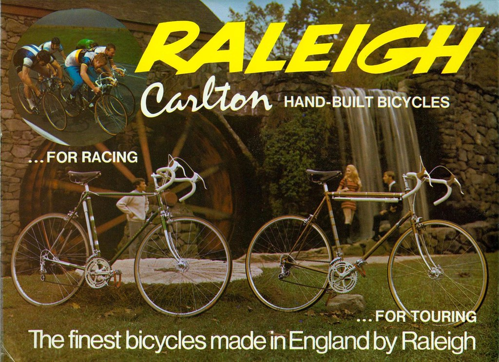Raleigh Brochure 1970 cover