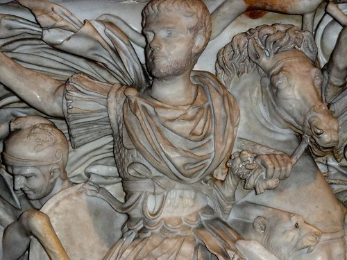 sarcophagus depicting battle Sarcophagus definition, a stone coffin, especially one bearing sculpture, inscriptions, etc, often displayed as a monument see more.