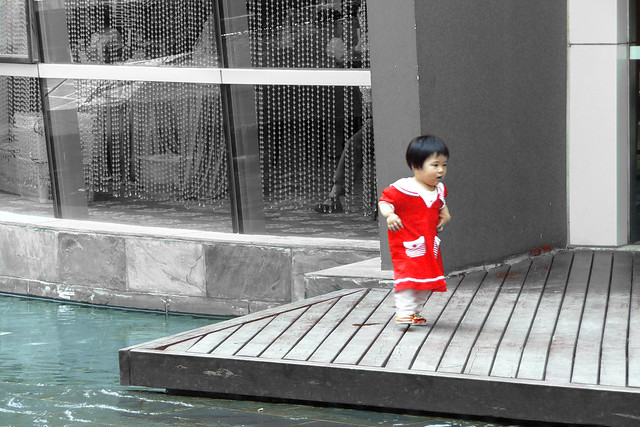 Chinese toddler in red dress | Flickr - Photo Sharing!