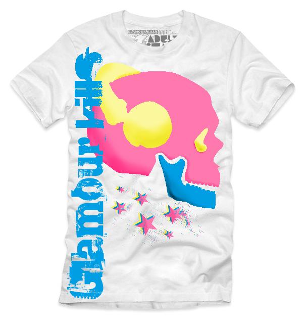 Glamour kills t-shirt design entry