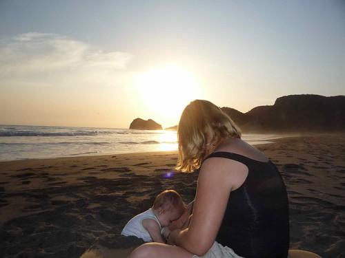 sasha-surf beach sunset