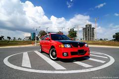 Nissan Y11 Wingroad ([sang]) Tags: color car nikon nissan tokina putrajaya nikkor 1224 bodykit d90 enal wingroad y11