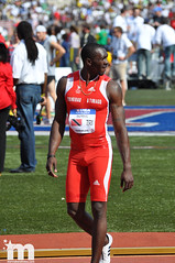 Marc Burns/Trinidad & Tobago (Starmaker Photos) Tags: black college philadelphia sports field race athletic university track pennsylvania young running run pa penn africanamerican sprint relays sprinter sprinting bopr