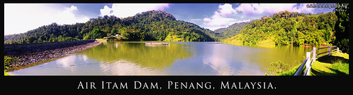 Air Itam Dam in Panorama #3