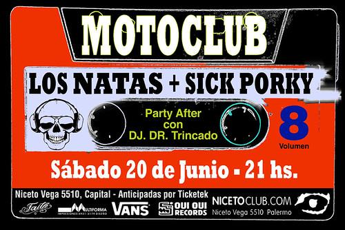 MOTOCLUB LOS NATAS - VOLUMEN 8 - SABADO 20 DE JUNIO