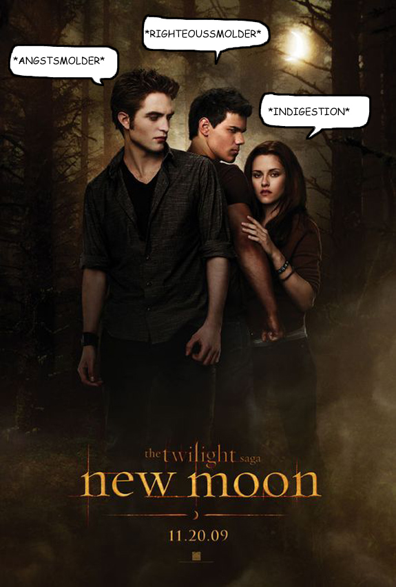New Moon Poster Real