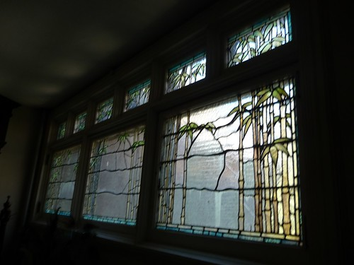 Tiffany Bamboo Window