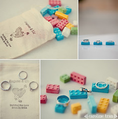 building our love... (caroline tran) Tags: wedding photography losangeles photographer lego legos cathedralofourladyoftheangels carolinetran