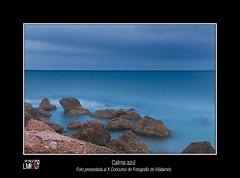 Calma Azul (Luisma Rubio photo) Tags: sea sky paisajes nature water clouds landscape atardecer mar photo spain europe playa panasonic nubes castellon alcaladexivert alcossebre fz18 panasonicfz18 vosplusbellesphotos lmrp luismarubio