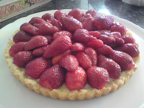 My mother's strawberry tart
