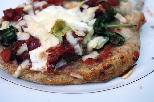 Mini Pizzas with Cappicola, Artichoke, and Arugula 1