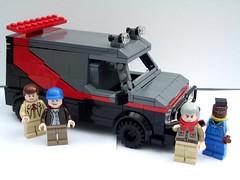 The A-Team (2 Much Caffeine) Tags: lego vehicle van ateam moc babaracus templetonpeck hannibalsmith foitsop howlingmadmurdoch