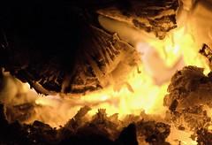 Hot Coals 9 (monkibuns) Tags: wood hot macro closeup fire photography log glow flames burning heat danny hearth glowing dslr furnace redhot roasting coals whitehot nikond60 weirdpattern scotting monkibuns dannyscotting scottingphotography