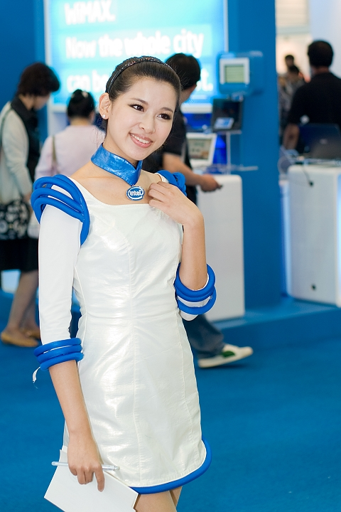 [Pentax-A 50mm F1.7] Intel Show Girl in Computex 2009