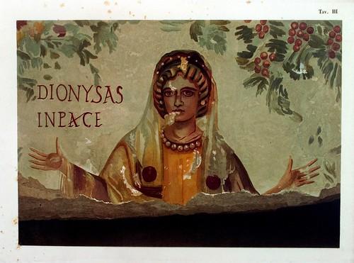 015-Arcosolio principal de la cripta llamda de los cinco santos 2-La Roma sotterranea cristiana - © Universitätsbibliothek Heidelberg