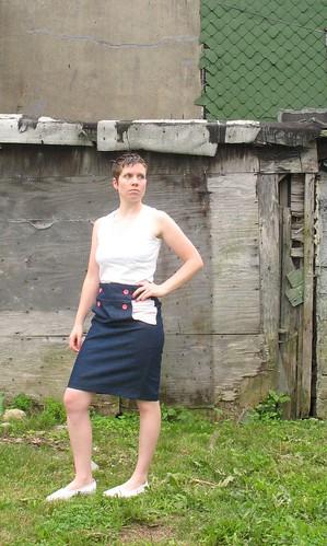 BurdaStyle Kasia skirt