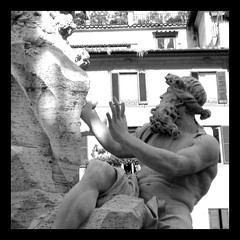 Fontana dei Quattro Fiumi, Piazza Navona, Rome, Italy (SpinView) Tags: italy rome fountain italia piazzanavona nikoncoolpix995