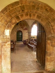 Norman doorway - All Saints Burton Dassett