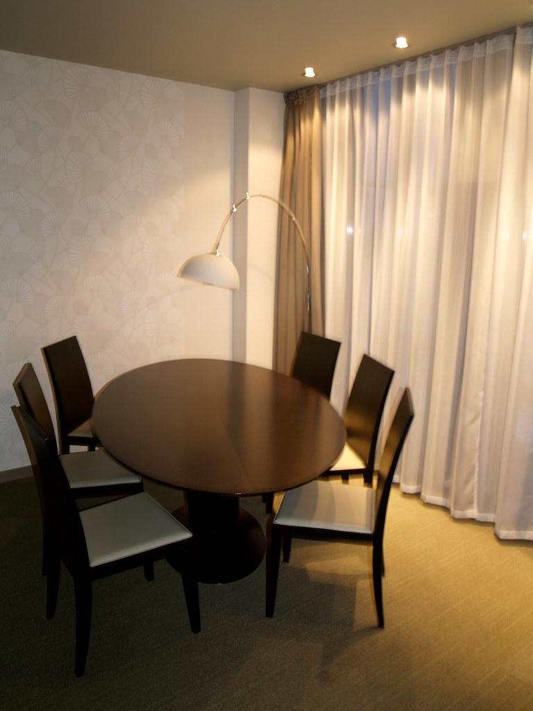 Small conference table - Elefant Hotel, Riga, Latvia.
