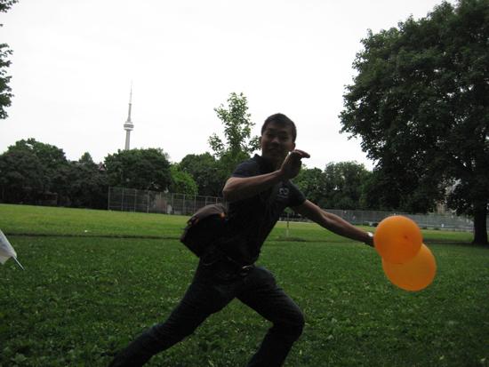 stealing balloons
