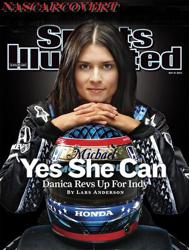 Danica Patrick Sports Illustrated NCvrt