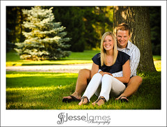 Kristen & Ryan Engagements (Jesse James Photography) Tags: tree love grass gardens outside niagarafalls nikon couple dating fiance engagements strobist