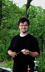 Kyle & Marshmallows (chrisnicolson) Tags: kyle bbq marshmallow barbeque lochlomond millarochy
