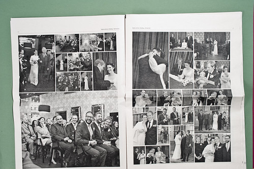 Wedding Newspaper by Iain Tait