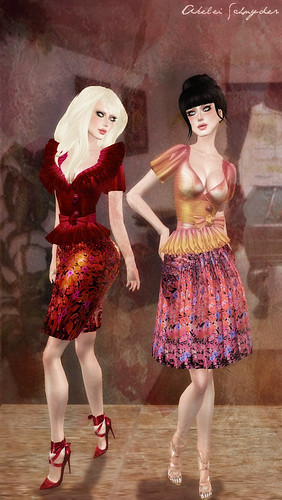 Tess And Autumn Dance Dress 02