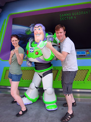ian and tammy with buzz lightyear
