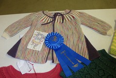 Marianne's 1st Place Ribbon
