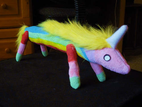 Lady Rainicorn Plush