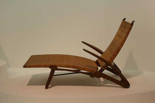 Hans Wegner chair in Pompidou, Paris
