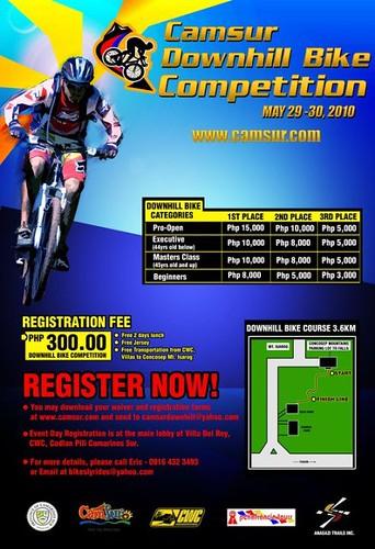 Camsur Downhill Bike Challenge 2010