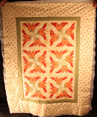 Asian Lily Quilt