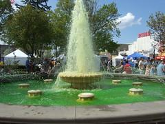 Go Green fountain