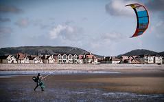 A big boys kite (calvin.downes) Tags: wales kitesurfing llandudno conwy