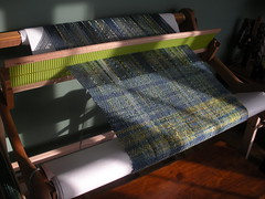 Loom stand in action
