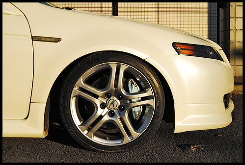 Acura TL Aspec wheels 18s or 19s too heavy for 4 Cylinder
