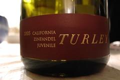 2005 Turley Juvenile Zinfandel
