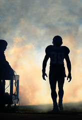 Negative Space (Steve Lindenman) Tags: silhouette backlight america us football nc charlotte space nfl steve bank smith negative bankofamerica carolina pro panthers stevesmith carolinapanthers lindenman cpmg0209sa