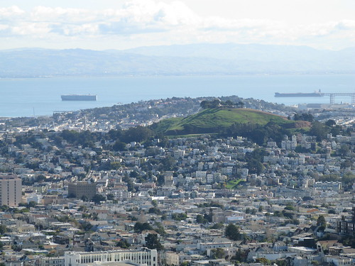 Bernal Hill in the distance