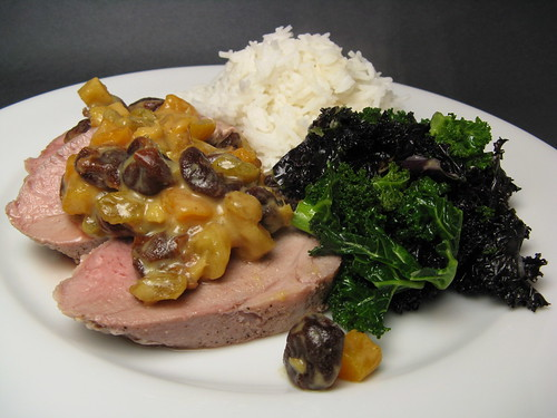 Pork Tenderloin with Mostarda Di Frutta