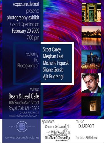 ExposureDetroit Exhibit Opening  February 20th