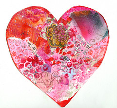 January Love Heart #1 (copyright Hanna Andersson)
