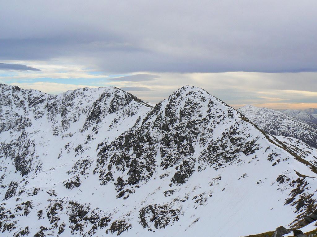 Continuation of the Saddle Ridge