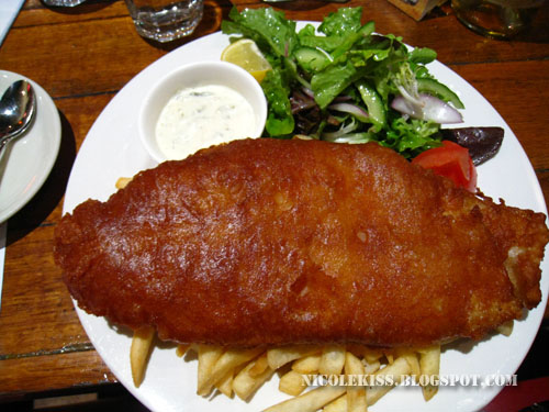my very big fish and chip