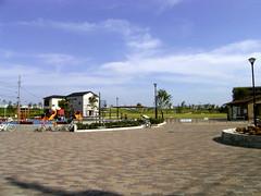 着いたところは東立石公園。