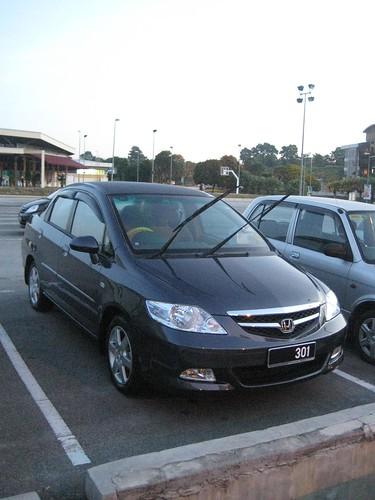 My car! New old City model :D